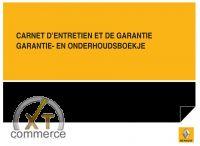 Renault Serviceheft Französisch und Niederländisch