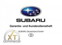 Subaru Garantie -und Kundendienstheft