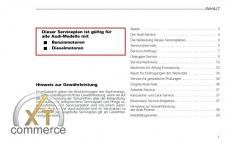 Audi Maintenance Schedule - Audi maintenance schedule