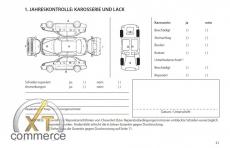 Chevrolet Serviceheft auf Deutsch
