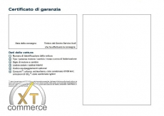 Audi Service Buch auf Italienisch