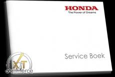 Honda Service Buch auf Niederländisches / Belgisch