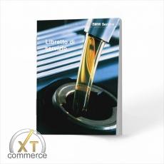 BMW Service Buch auf Italienisch