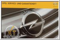Opel Serviceheft