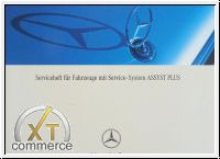 Mercedes-Benz Service book for Car mit Service-System ASSYST
