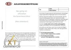 Kia Garantie und Serviceheft