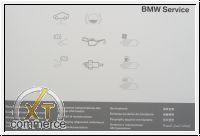 BMW Serviceheft ab 2008 - 2018