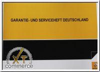Renault serviceheft und wartungsheft