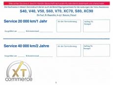 Volvo Serviceheft,Garantieheft