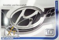 Hyundai Serviceheft auf Deutsch