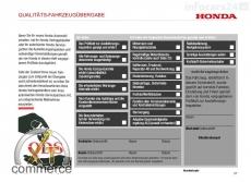 Honda Serviceheft