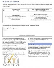 VW Serviceheft Holländisch 17 Modelle