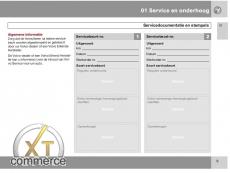 Volvo Service-und Garantieheft Niedeländisch