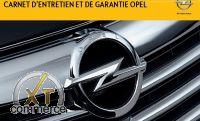 Opel Service-und Garantieheft Französisch